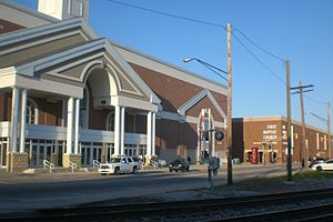 English: The main buildings of First Baptist C...