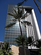 First Hawaiian Center Tower in Honolulu, Hawaii USA