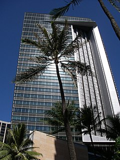 First Hawaiian Center Tower in Honolulu, Hawaii USA.jpg