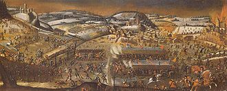 First War of Villmergen - The First Battle of Villmergen (24 January 1656), to which the war owns its name.