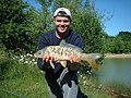 Fishing At Beggars Hall Lake (private fishing) - geograph.org.uk - 262932.jpg