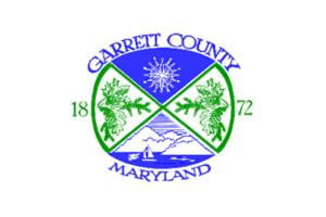Oakland, Maryland - Image: Flag of Garrett County, Maryland