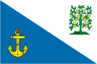 Lomonosovsky District, Leningrad Oblast - Image: Flag of Lomonosov rayon (Leningrad oblast)