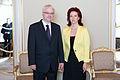 Flickr - Saeima - Solvita Āboltiņa tiekas ar Horvātijas prezidentu (7).jpg