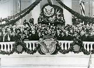 First inauguration of Franklin D. Roosevelt 43rd United States presidential inauguration