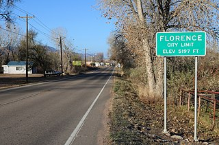 Florence, Colorado Statutory City in Colorado, United States