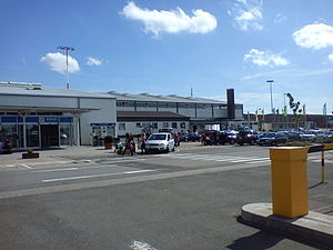 Zweibrücken Airport - Image: Flughafen Zweibrücken Terminal