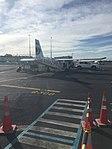 FlyMySky BN Islander ZK-PIZ at AKL (28981826106).jpg