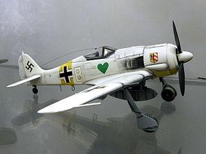Walter Nowotny - Focke-Wulf Fw 190A-4 JG 54.