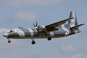 Fokker 50 - Fokker 60 of the Royal Netherlands Air Force