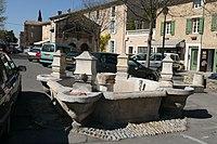 Fontaine de la porte neuve 1775 à Pernes les Fontaines.JPG