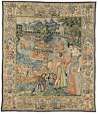 Fontainebleau, from the Valois Tapestries.jpg