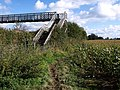 Footbridge and path, Norton Fitzwarren - geograph.org.uk - 1001819.jpg