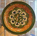 Footed tray, China, Tang dynasty, c. 675-750, glazed earthenware - Royal Ontario Museum - DSC04043.JPG