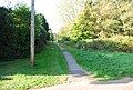 Footpath at the entrance to Nevill Park - geograph.org.uk - 1517341.jpg