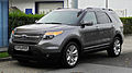 Ford Explorer 3.5 V6 AWD Limited (V) – Frontansicht, 10. September 2011, Düsseldorf.jpg