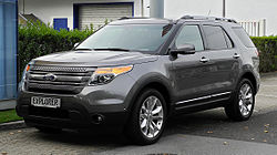 Ford Explorer Limited (2010–2015)