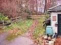 Forest entrance at Linegar wood road, Ruspidge, Forest of Dean - geograph.org.uk - 1049922.jpg
