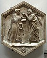 Formella 21, platone e aristotele o la filosofia, luca della robbia, 1437-1439.JPG