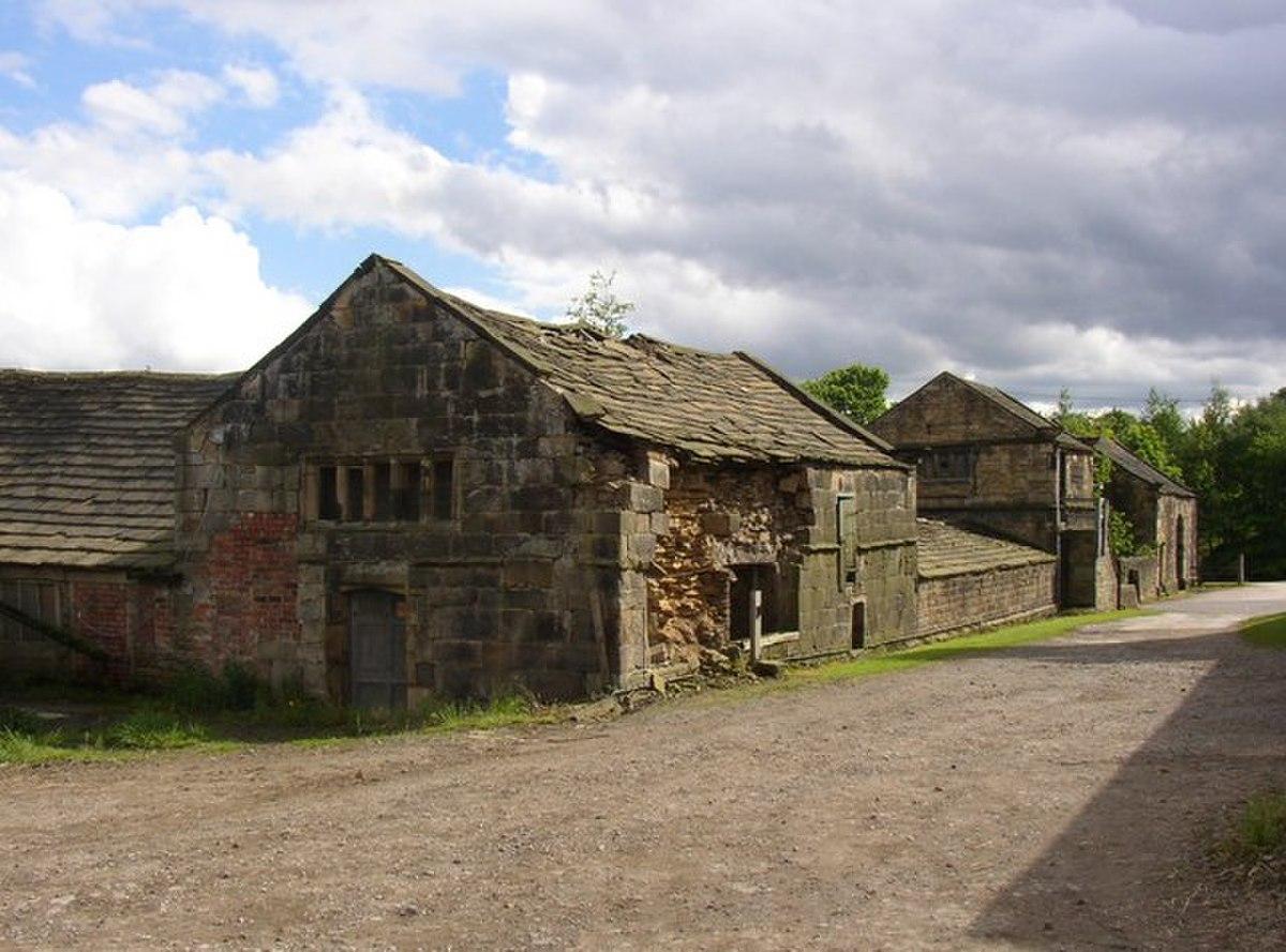 Former slaughter house, Kirklees Home Farm, Clifton - geograph.org.uk - 178225.jpg