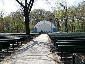 Forest Park (Queens) - George Seuffert, Sr. Bandshell
