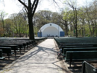 Forest Park (Queens) - George Seuffert, Sr. Bandshell