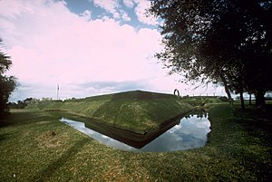 Moat of Fort Caroline National Memorial, Florida