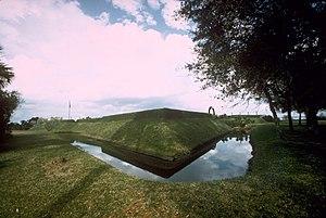 Fort Caroline - Image: Fort Caroline moat FOCA1566