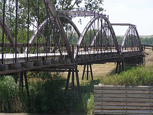King Bridge Company - 1867 North Platte River, Ft. Laramie, Wyoming