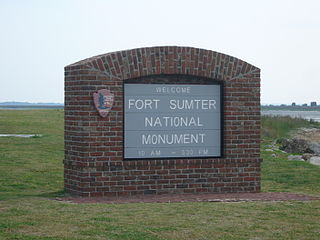Fort Sumter and Fort Moultrie National Historical Park United States National Monument in Charleston, South Carolina