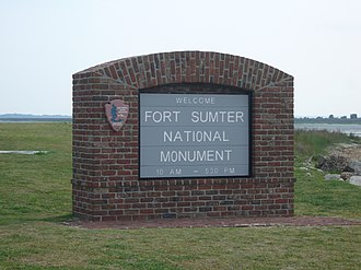 Fort Sumter and Fort Moultrie National Historical Park - Image: Fortsumter NM welcome