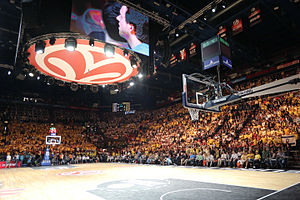 EuroLeague - The setting of the 2014 EuroLeague Final Four, in Milan.