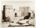 Fotografi på Davids torn i Jerusalem - Hallwylska museet - 104394.tif