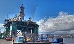 "Fotos de la La Plataforma petrolifera ""Eirik Raude"" en Las Palmas de Gran Canaria (8091579362).jpg"