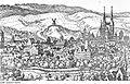 Fotothek df rp-a 0310040 Eisleben. Stadtansicht von Nordosten nach Merian, Ausschnitt, aus, Mansfelder Bl.jpg