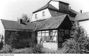 Räckelwitz - Image: Fotothek df rp d 0680063 Räckelwitz Neudörfel. Ehem. Mühle, Gartenseite