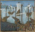 Français 5594, fol. 211 haut, Départ pour la troisième Croisade.jpeg
