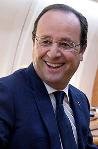 François Hollande on board Air Force One.jpg