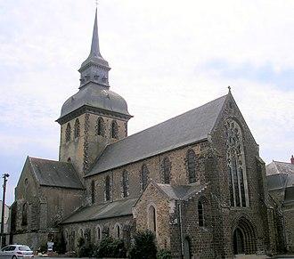 Saint-Gildas-des-Bois - The abbey church of Saint Gildas, in Saint-Gildas-des-Bois