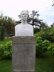 bust of Francesc Carreras i Candi