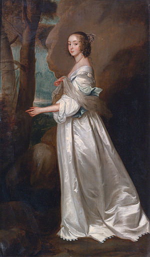 Richard Sackville, 5th Earl of Dorset - Frances Cranfield, Lady Buckhurst (1622-1687) (after Anthony van Dyck)