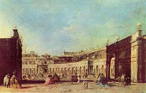 Casanova (2005 film) - Piazza San Marco, Francesco Guardi, 18th century.