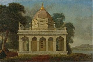 Mausoleum at Outatori near Trichinopoly