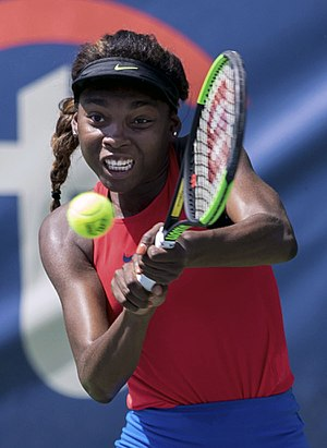 Françoise Abanda - Abanda at the 2017 Citi Open