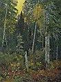 Frank Johnston Sunset in the Bush.jpg