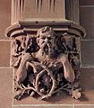 Frankfurt Neues Rathaus Südbau Hof Durchgang detail 02.jpg