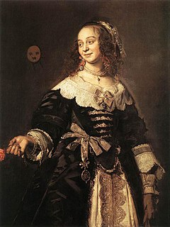 Isabella Coymans Dutch wife of Stephanus Geraerdts best known for her portrait painted by Frans Hals