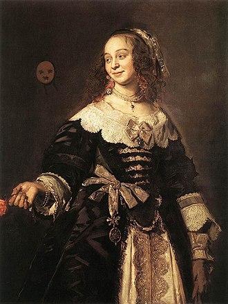 Isabella Coymans - Portrait of Isabella Coymans