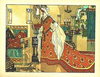 Snow White - 1. The Queen asks the magic mirror