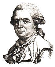 Portrait de Mesmer.